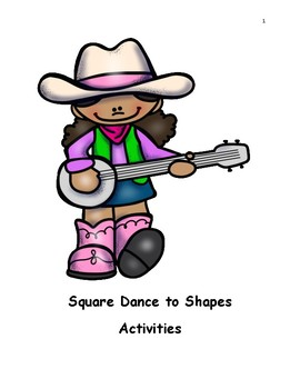 Square Dance to Shapes Song Worksheets and Book