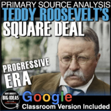 Square Deal Speech by Teddy Roosevelt Primary Source Analysis (Progressive Era)