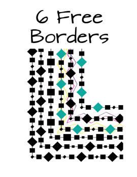 Square & Diamond Border