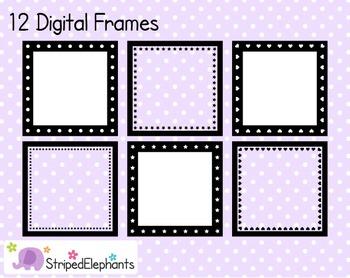 Square Digital Frame Collection 2