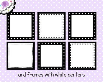 Square Digital Frame Collection 2