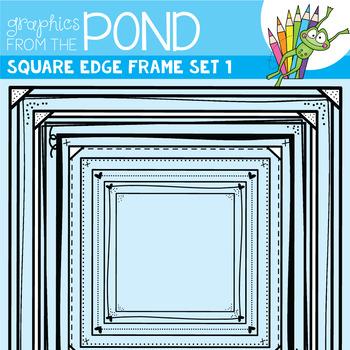Square Edge Frames Set #1