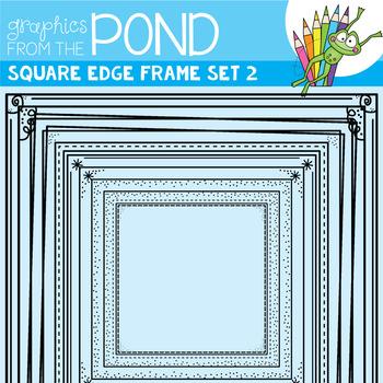 Square Edge Frames Set #2