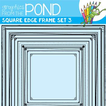 Square Edge Frames Set #3