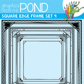 Square Edge Frames Set #4