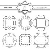 Square Frames Clip Art