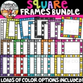 Square Frames Clipart {Sellers Clipart}