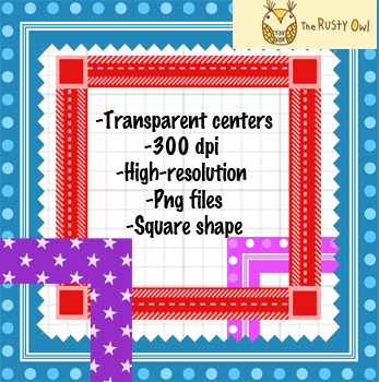 Square Frames Super Pack!