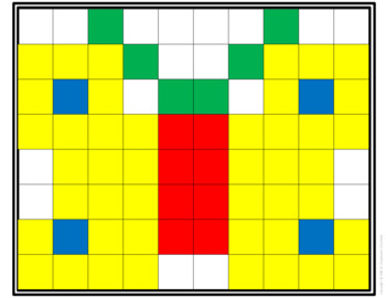 Square Inch Tiles Activity Cards (Task Cards)