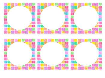 Square Label