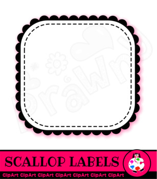 Square Label Borders