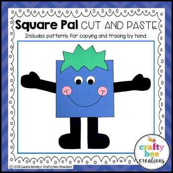 Square Pal Cut and Paste