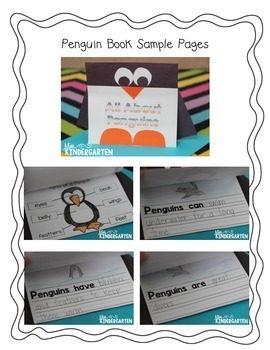 All About Penguins {shape craft}