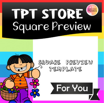 Square Preview Template