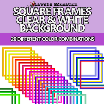 Square Product Cover Frames Teachers Pay Teachers Seller Bundle