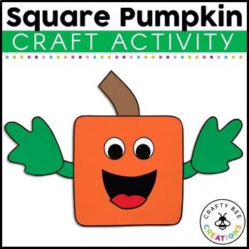 Square Pumpkin Cut and Paste