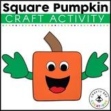 Square Pumpkin Craft | Spookley the Square Pumpkin | Fall Activities