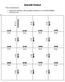 Square Puzzle Form