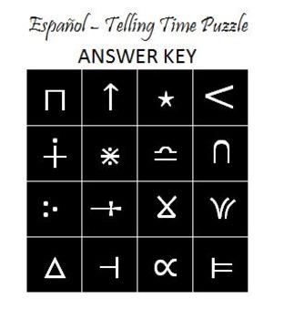 Square Puzzle - ¿Qué hora es?