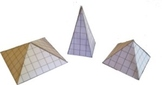 Square Pyramid Activity - Construct Using A Net