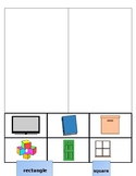 Square/Rectangle cut and sort