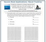 Square Root Applications: Naval Tracking