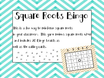 Square Root Game