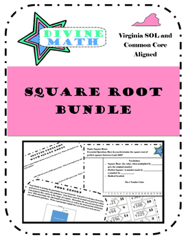 Square Root Bundle- Virginia SOL