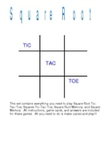 Square Root Games
