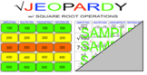Square Root Operations Jeopardy (Radicals)