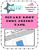 Square Root Pool Task- Virginia SOL