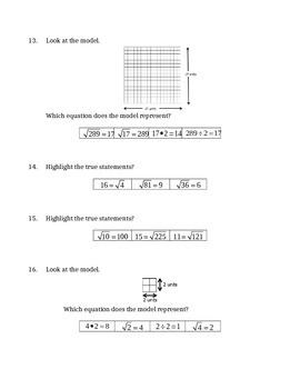 Square Root Quiz