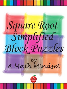 Square Root Simplified Block Puzzle