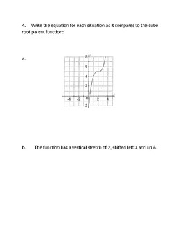 Square Root and Cube Root Stations