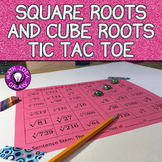 Square Root and Cube Root Game (Tic Tac Toe)