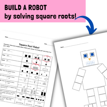 Square Roots Activity