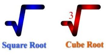 Square Roots, Cube Roots, nth Roots (Test)