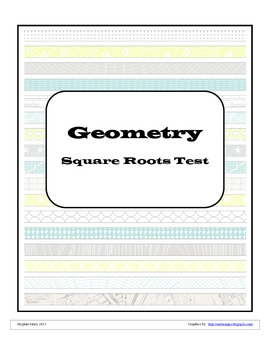 Square Roots Quiz