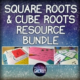 Square Roots and Cube Roots Activities Bundle
