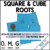 Square Roots and Cube Roots Card Game | Distance Learning