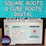 Square Roots and Cube Roots Digital Activity