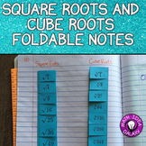 Square Roots and Cube Roots Foldable