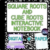 Square Roots and Cube Roots Digital Resource (Notes)