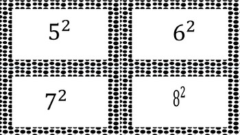 Square Roots and Perfect Squares Flashcards