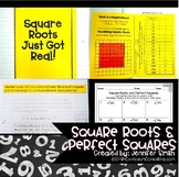 Square Roots and Perfect Squares Lesson for Interactive Notebooks