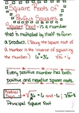 Square Roots of Perfect Squares