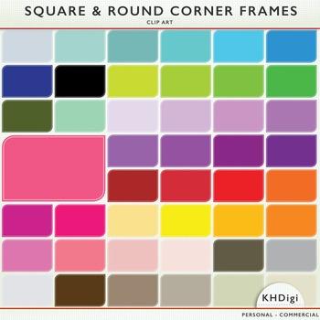 Square & Round Corner Frames