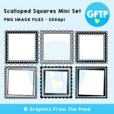Square Scalloped Border Mini Set - Graphics From the Pond