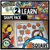 Square Shape Activity Pack
