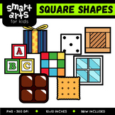 Square Shapes Clipart